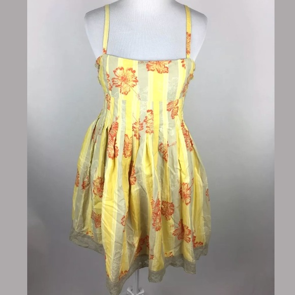 e82dc733194 ... Yellow Tie Back Sundress. M 5b2be7846a0bb71f465fdc02
